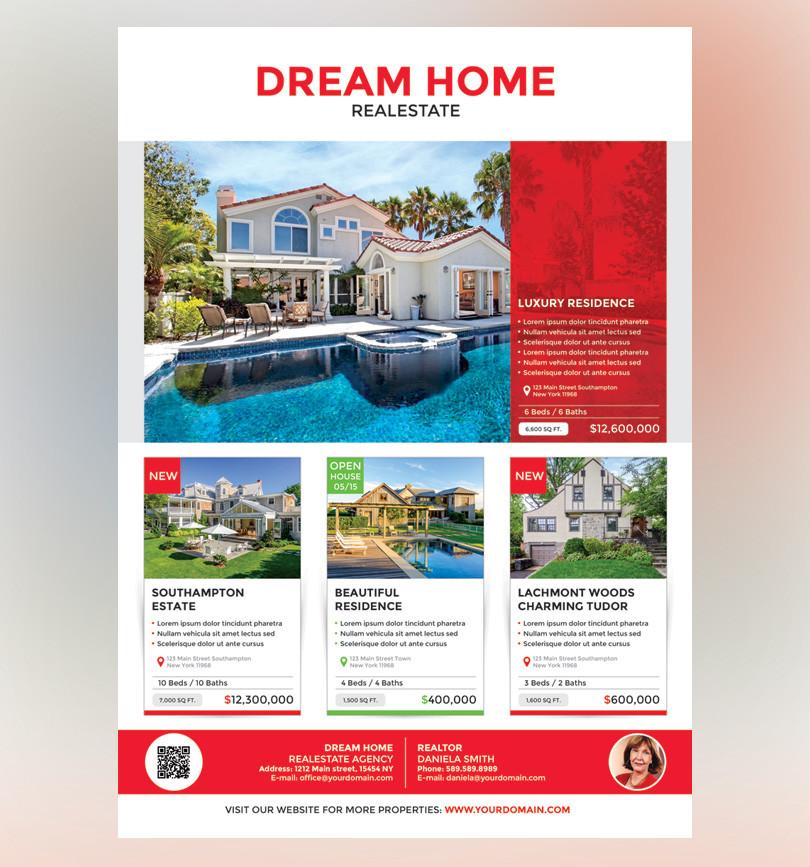 Realestate Flyer Magazine Ad Redpencilmedia